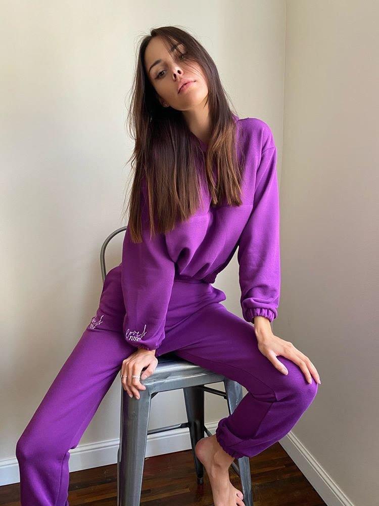 Naomi purpule Sweatpants