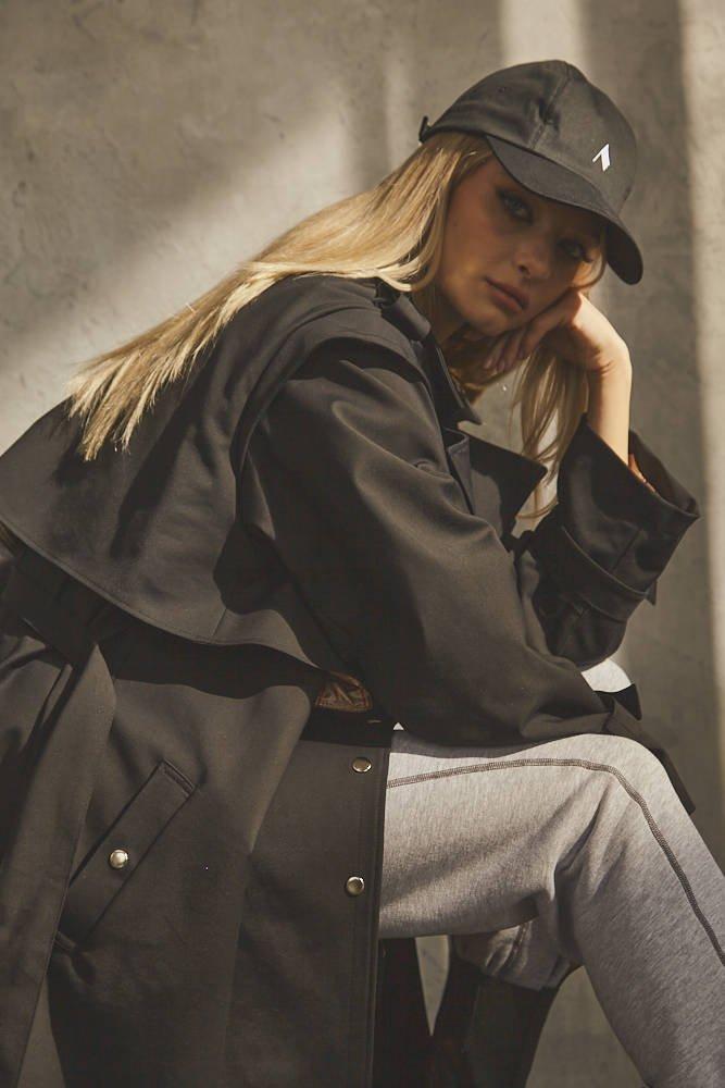 Veracruz Coat Black